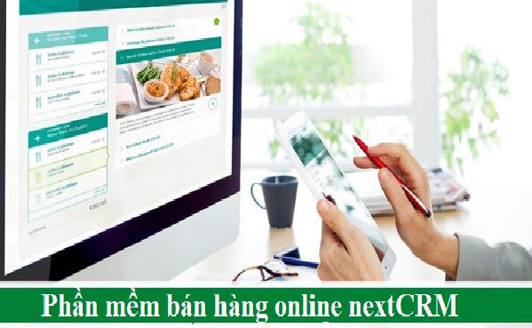 Phần mềm CRM bán hàng online