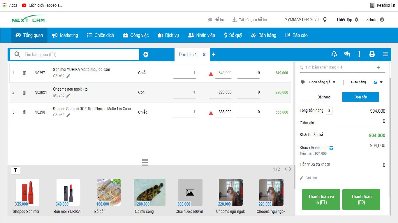 Phần mềm CRM bán hàng đa kênh