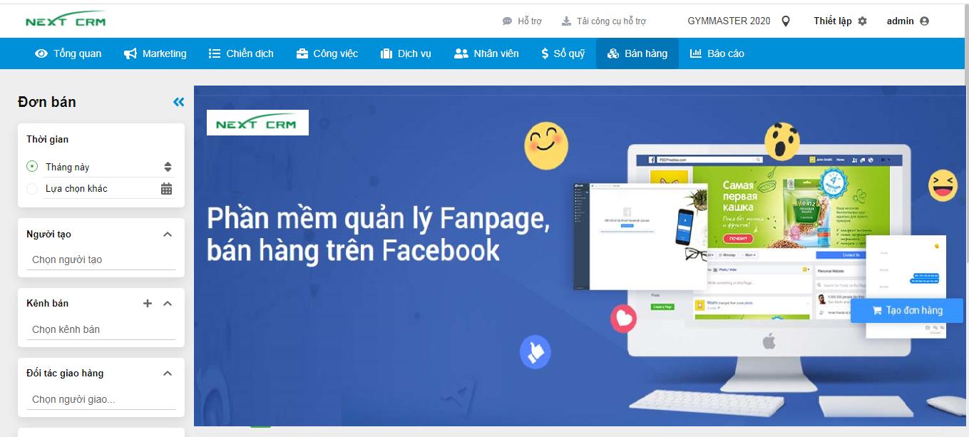 Phần mềm bán hàng trên Facebook, quản lý fanpage hiệu quả nhất