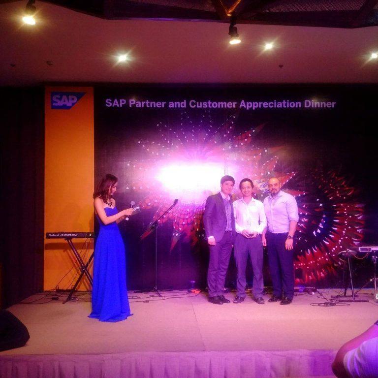 NextCRM và SAP đối tác chiến lược – tại gala dinner tri ân giành cho đối tác thân thiết của SAP ERP