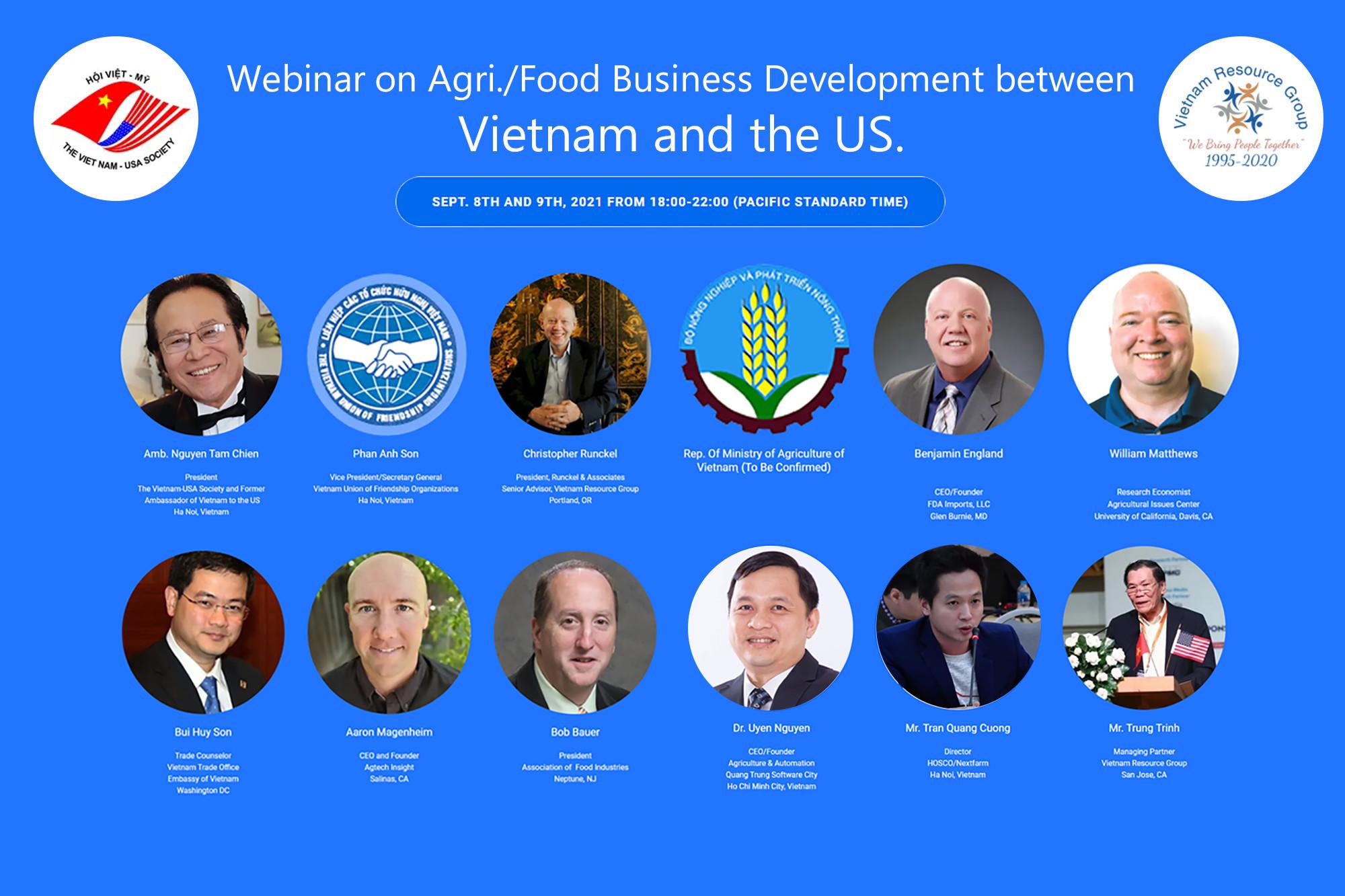 CEO NextCRM làm diễn giả phát biểu tại tọa đàm trực tuyến Giao lưu Việt Mỹ – Cơ hội hợp tác giao thương kinh doanh Nông sản