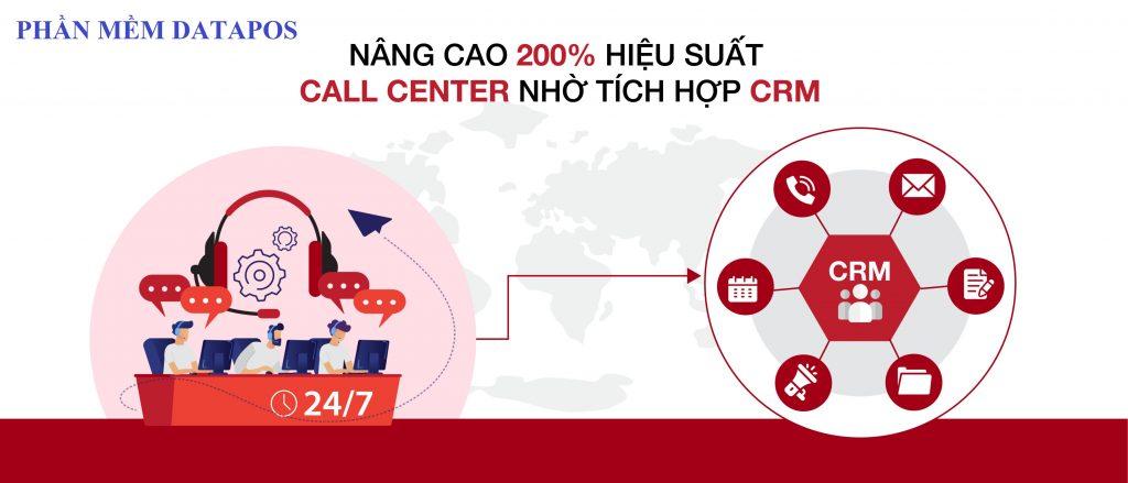 Phần mềm quản lý& CSKH nextCRM tích hợp Call center