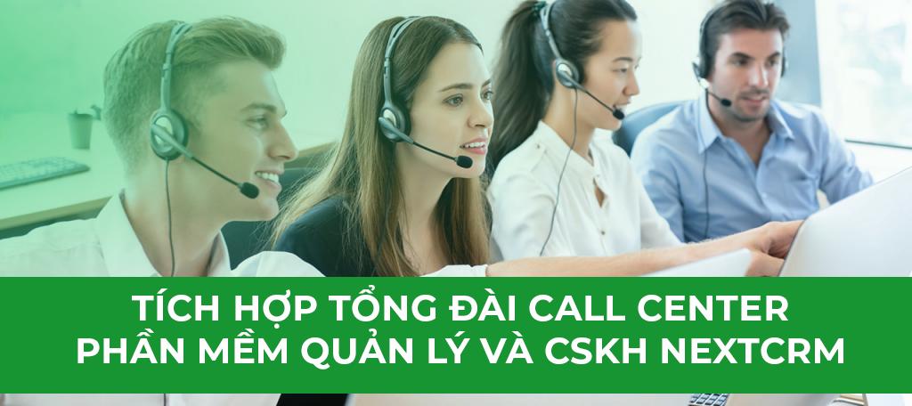 Call Center-Tổng Đài chăm sóc khách hàng trên Phần Mềm CRM