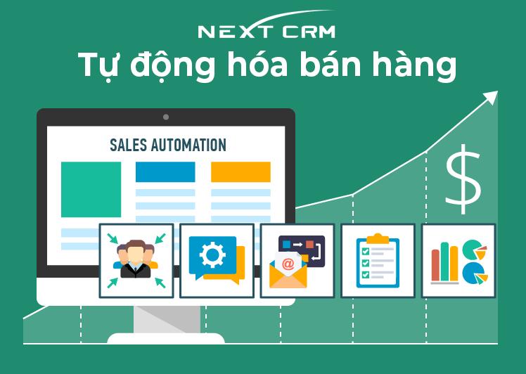 Tự động hóa bán hàng với phần mềm quản lý NextCRM
