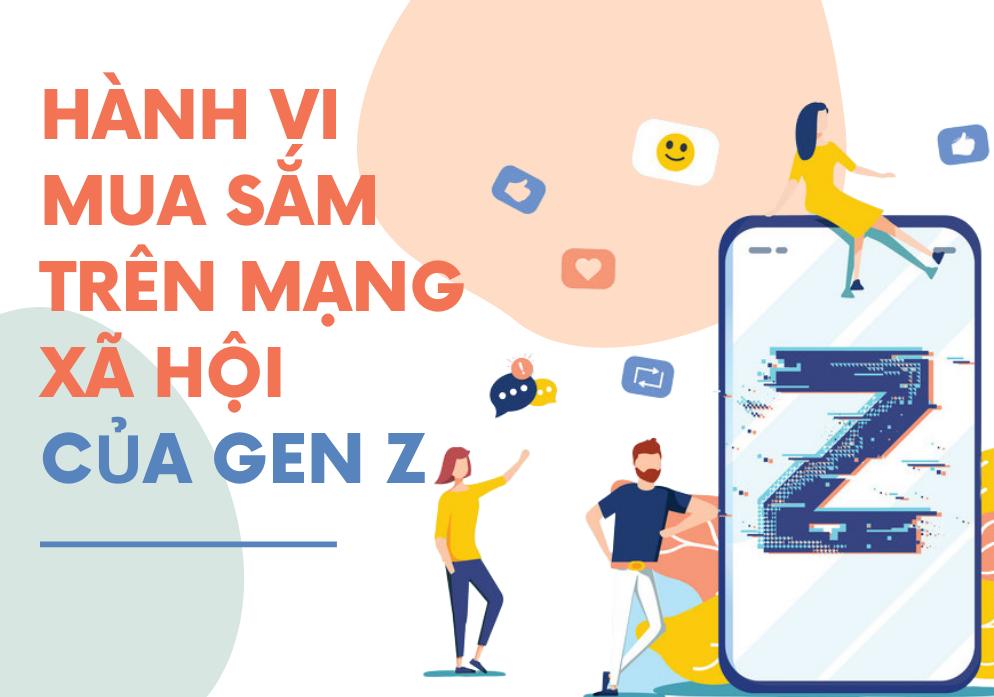 Hành vi mua sắm trên mạng xã hội của gen Z